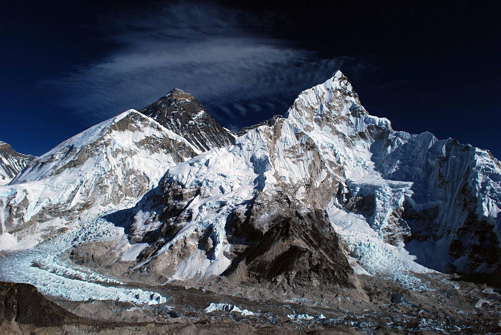 эверест высота фото