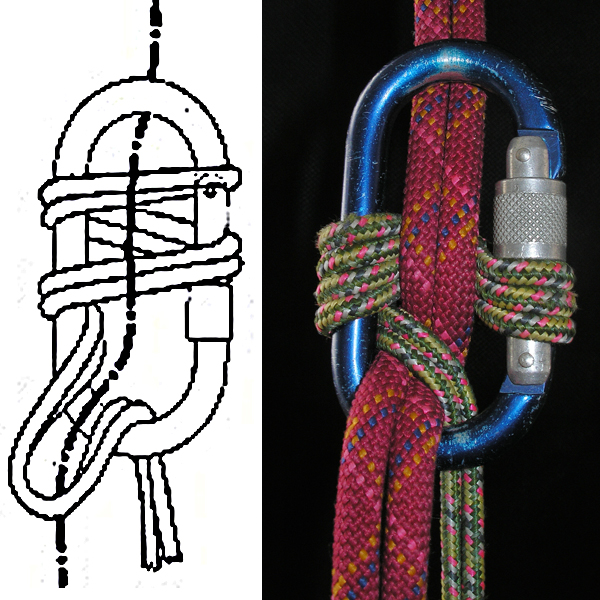 Как вязать узел прусика