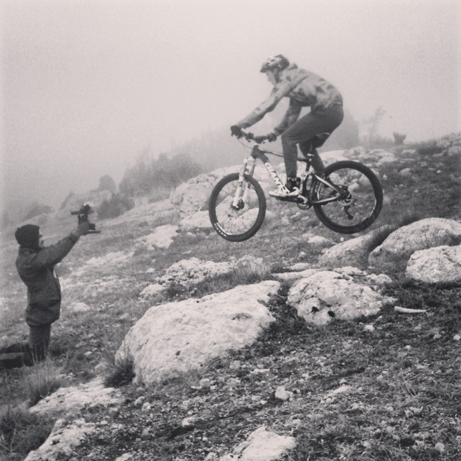 Зима в Крыму (mtb, mountainbike, trail, freeride, crimea, filming, mountains, black sea, weare, trip, balaklava)
