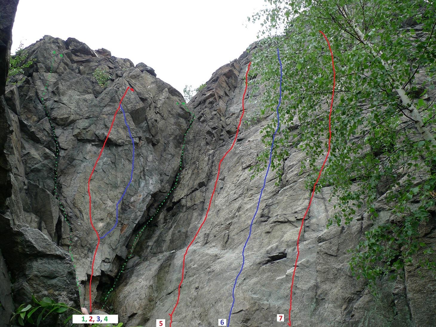 Пробивка скалолазных маршрутов обучение