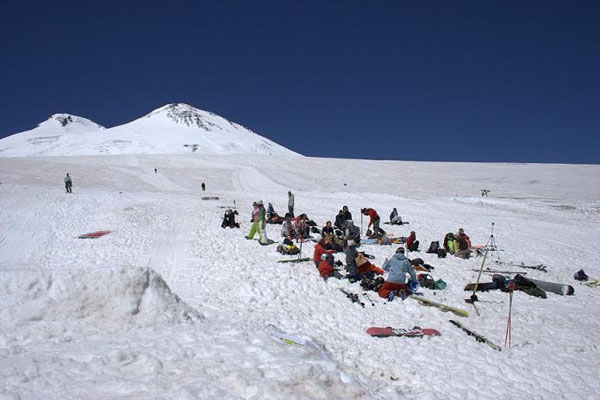 Elbrus summer camp 2007 (Горные лыжи/Сноуборд, сноуборд, эльбрус)