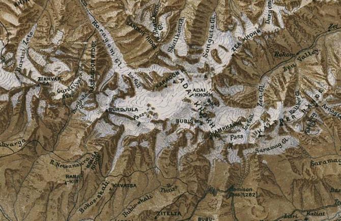 Чтобы было. Топограф Георгий Кавтарадзе. Восхождение на Бокос и Уилпату в 1891 году (Альпинизм, цей, караугом, уилпата, русские топографы)