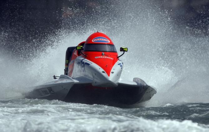 формула 1 держи моторных лодках