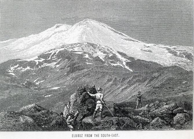 О Дугласе Фрешфильде и Адольфусе Муре накануне 140-летия их восхождения на Эльбрус (Альпинизм)