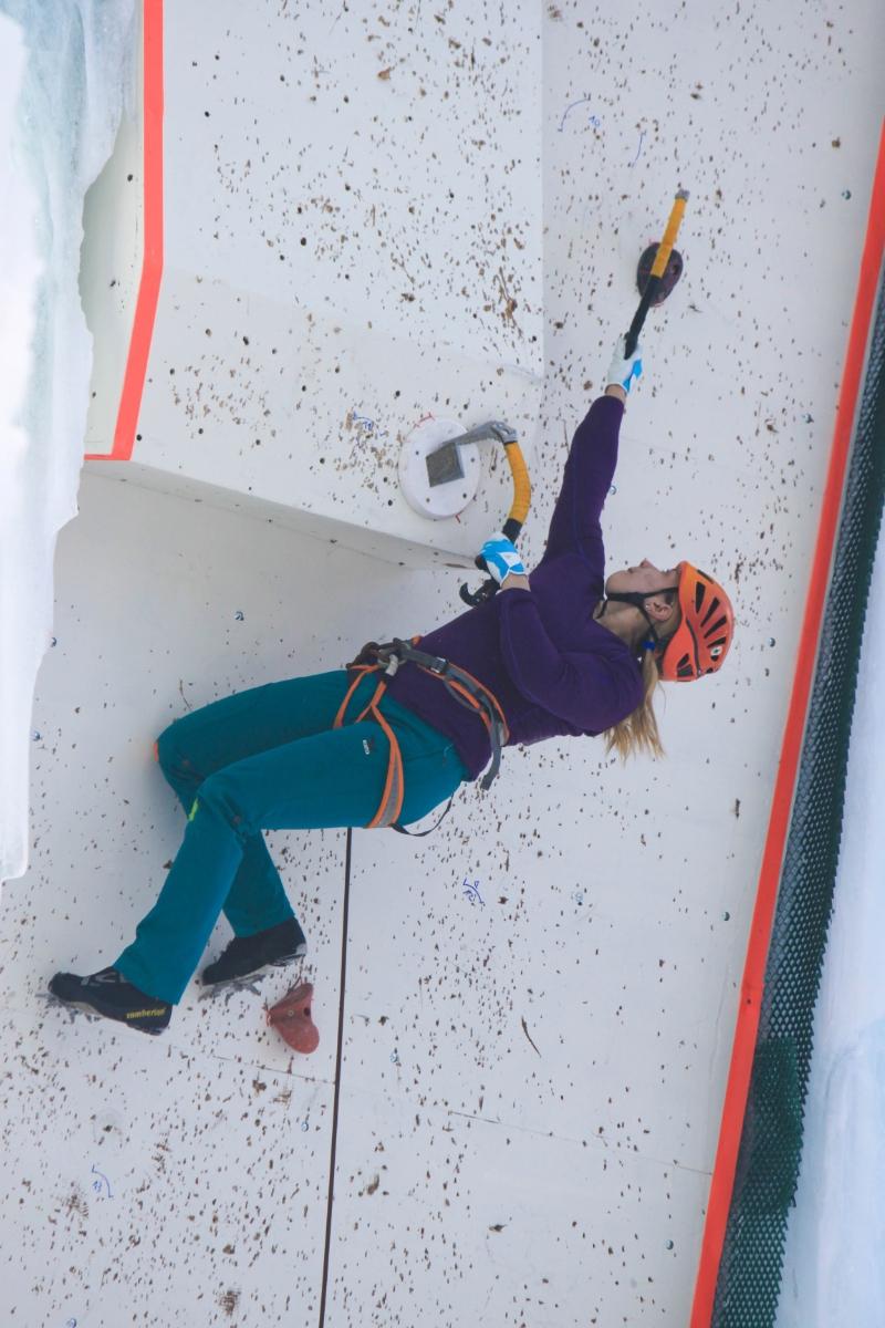 Мария Эдлер ледолазание Кубок мира