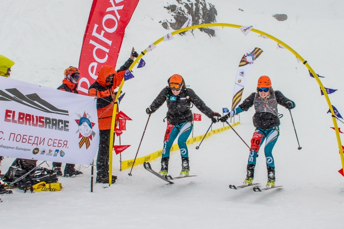 Фестиваль Red Fox Elbrus Race 2015. Командная гонка по ски-альпинизму (Ски-тур, эльбрус, ски-тур)