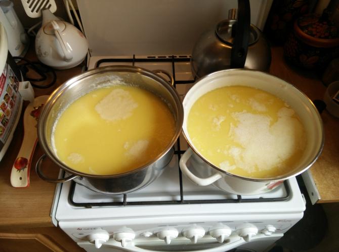 Как сделать вкусное топленое масло
