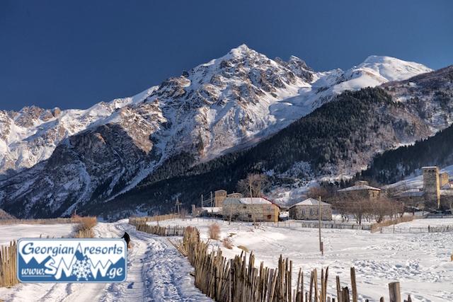 Грузия: Сванетия и город Местия || Местия Грузия горнолыжный курорт Сванетии