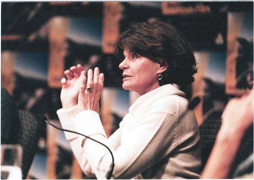 Линда Уайли на фестивале Банффа в 2002 году
