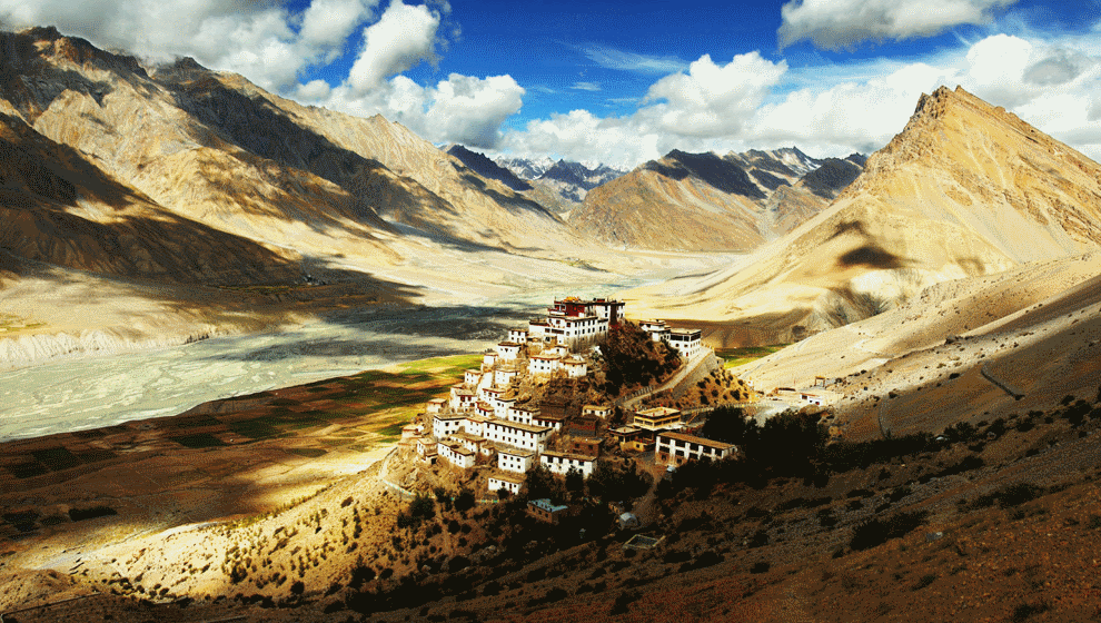 tibet and the himalayas Tibet: tibet lies in the rain shadow of the himalayas and is quite dry during the summer months winters have limited snow but are quite cold winters have limited snow but are quite cold the best time to visit is from april until early october.