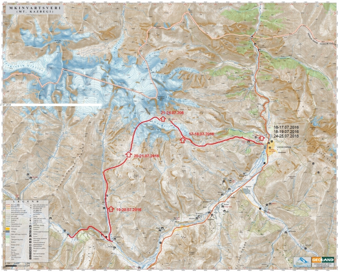Mt_Kazbegi Map