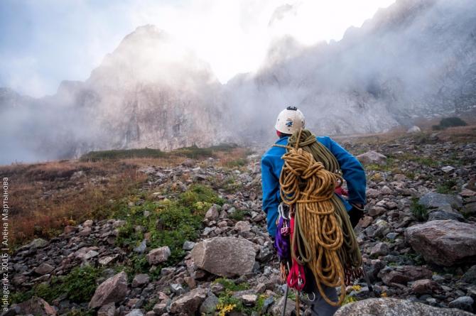 Лёня Крупа идёт заниматься альпинизмом