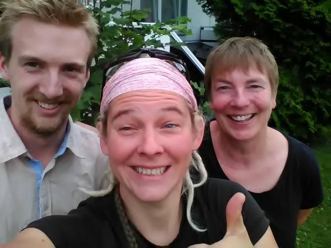 Истoрия про Элвиру из Зольтау (Soltau) и ее сына Ленарта (соло вело трип по Европе) (Вело, велосипед, путешествие по Европе, соло вело трип, гостеприимство)