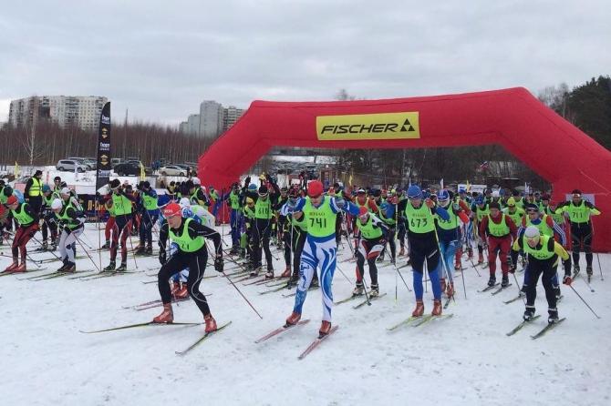 XIII лыжная гонка альпинистов МЭИ памяти А.И. Колганова