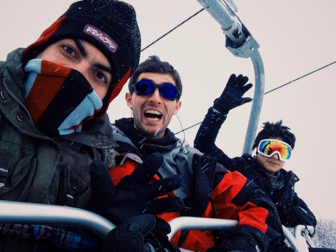 Зимние покатушки в Армении (Горные лыжи/Сноуборд, лыжи)