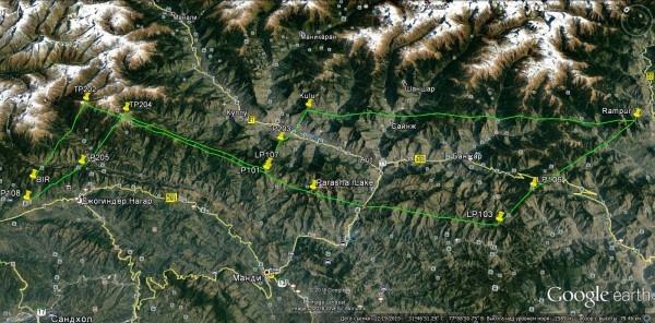 Бивaк-флaй на параплане в Гималаях (Воздух, бивак флай, гималаи, индия, бир, полеты)