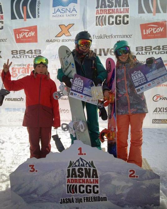 Aннa Орлова - вторая на FWQ 4* Jasna Adrenalin! (Бэккантри/Фрирайд, фрирайд, хохфюген, австрия, сноубординг, квалификационный тур)