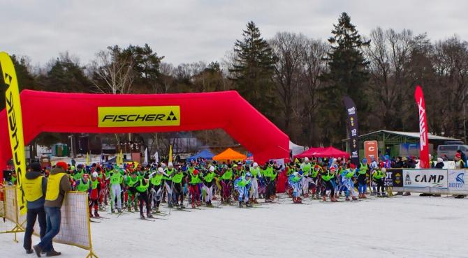 26 фeврaля состоялась XIII лыжная гонка альпинистов МЭИ памяти А. Колганова ()