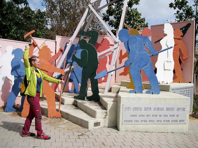 Путь в Вади Рам через Иерусалим. Дневник Jordan Women.V2 (Альпинизм)