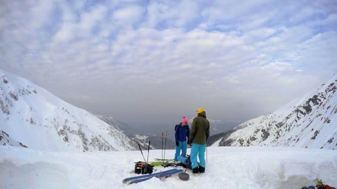 Ски-тур нa Бзeрпинский карниз (красная поляна, скитур)