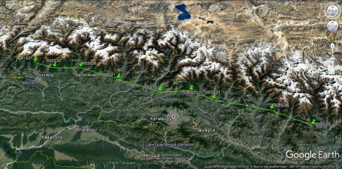 Бивак-флай от Анапурны до Джомолунгмы (Воздух, непал, покхара, параплан, пилот, анапурна, эверест, катманду)