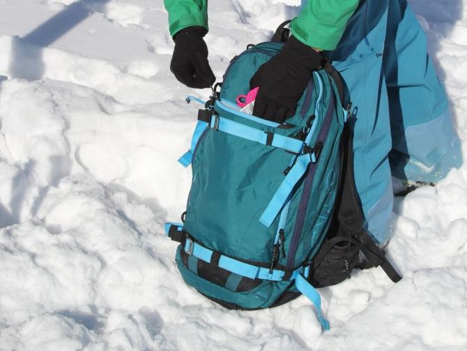 Обзор рюкзака Evoc FR Guide (Бэккантри/Фрирайд, рюкзак для фрирайда, рюкзак для б)