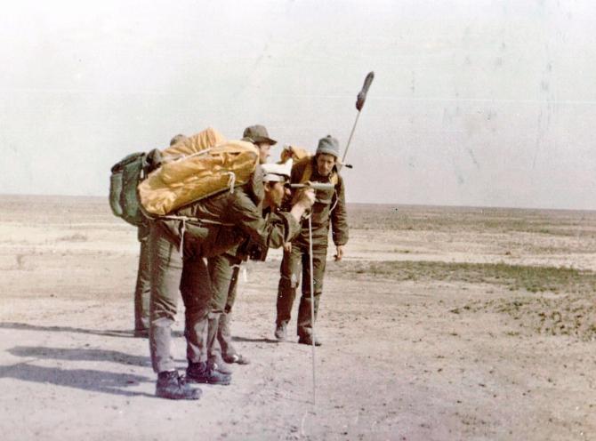Следов пустынных вьётся лента... Часть 1. Кызылкум. (Путешествия)