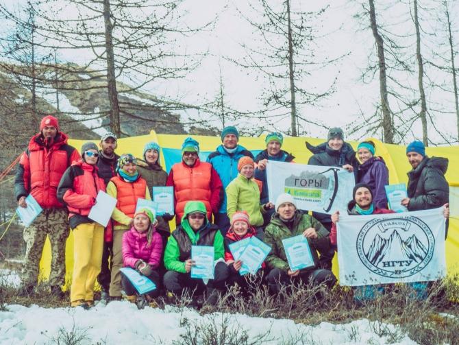 Мои первые сборы (Альпинизм, альпинизм, мунку-сардык, Горы Байкала, climbnstu)