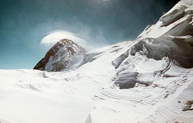 Экспeдиция грузинскиx альпинистов на пик Победы. 1961 год. Вторая часть слайдов. (Альпинизм, кузьмин, 1961 г., Тянь-Шань.)