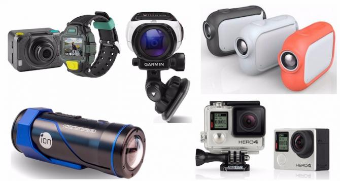 Как выбрать экшн-камеру и не пострадать (экшн-камера, видео, ликбез, съемка)