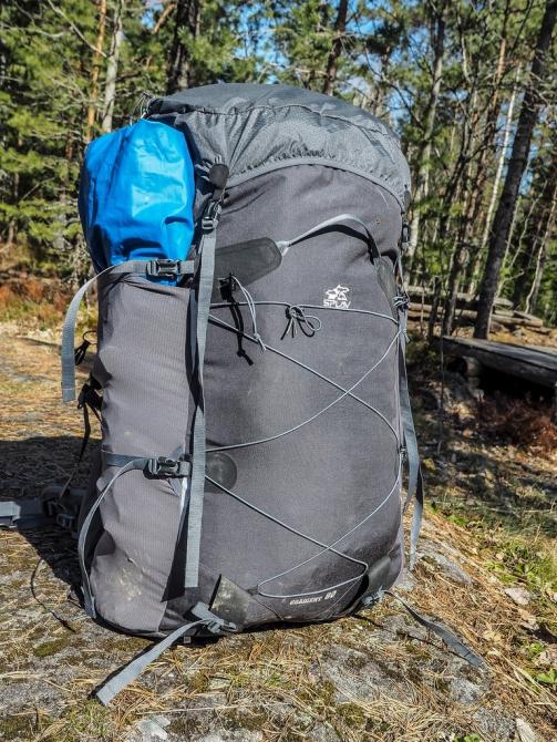 Сверхлегкий рюкзак для горных походов Splav Gradient 80 (Горный туризм, обзор, ультралегкий, ultralight, легкоходство)