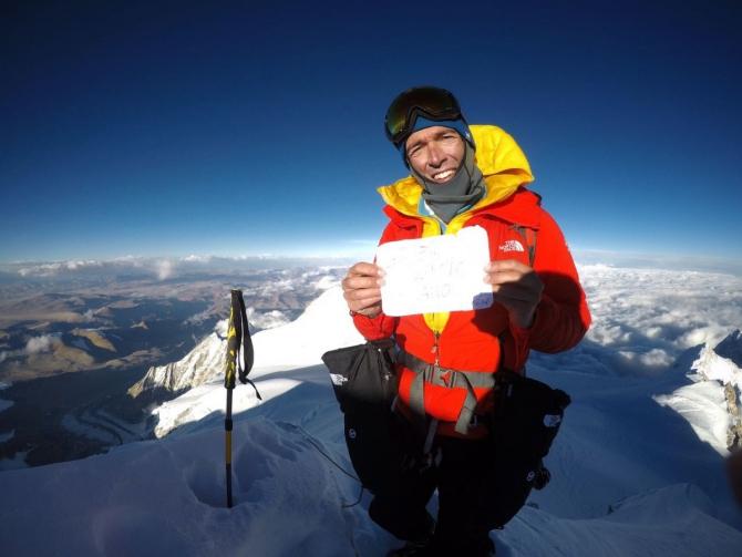 Эрвe Бaрмaсс и Дэвид Гёттлер прошли за день южную стену Шишапангмы (Альпинизм, шишапангма, экспедиции, альпийский стиль, восьмитысячники)