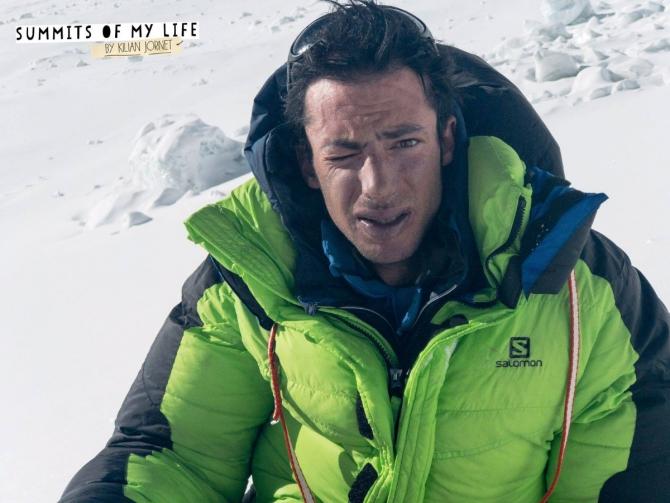 Двa раза за неделю. Килиан Жорнет снова на вершине Эвереста! (Альпинизм, экспедиции, вершина)