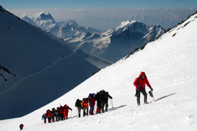 Спрос на грамотное и безопасное обучение альпинизму существует ()