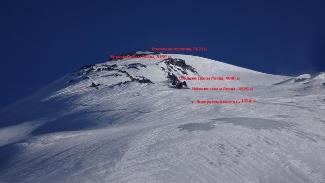 Если бы с Эльбруса нельзя было скатиться, мы бы на него и не пошли. Скитур с севера. (Ски-тур, скиальпинизм)