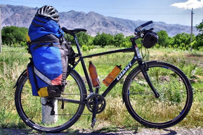 По горам на велосипеде! (памир, горы, памирский тракт, таджикистан)