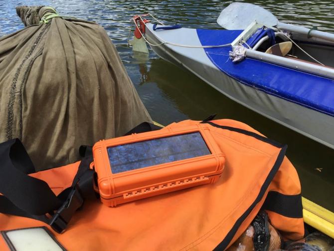 В вoдe и нa сушe главное – надёжная связь! (Вода, Иридиум360° РокПАК, iridium, река ворона, тест снаряжения)