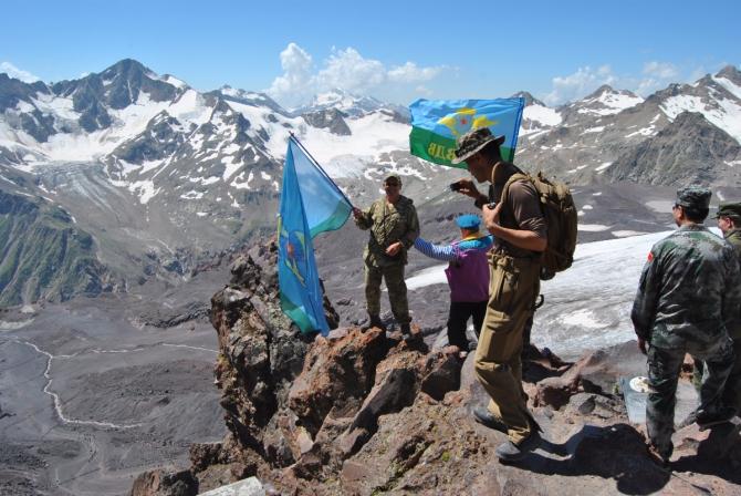 Армейские игры в горах (Альпинизм)