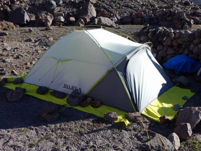 Обзор палатки Salewa Litetrek 2 (salewa tent)
