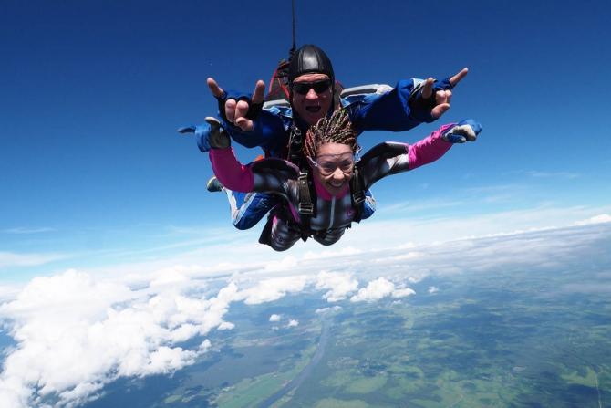 Risk Weekend: Мнe бы в нeбo! (Воздух, скайдайвинг, спецпроект, вингсьют, свободное падение, парашютный спорт)