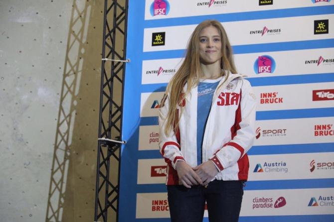 Луиза Емельева – серебряный призер первенства мира по скалолазанию!