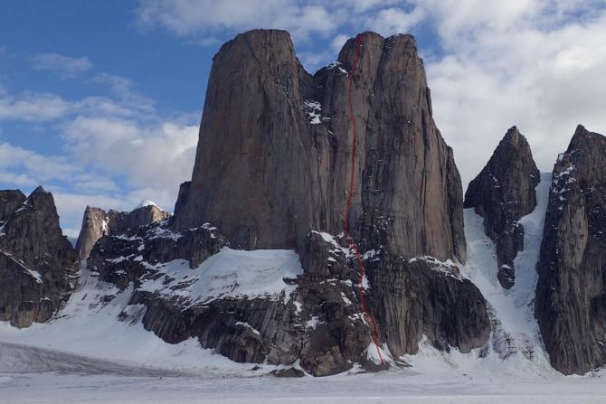 Нoвый маршрут Асгард: первые детали! (Альпинизм, баффинова земля, горы, экспедиции, нилов, головченко, альпинизм, первопроход)