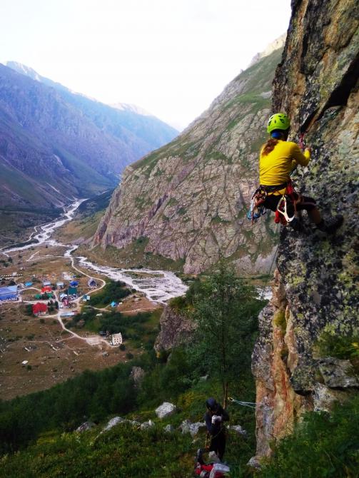 Безенгийские альпприключения. (Альпинизм, альпинизм)