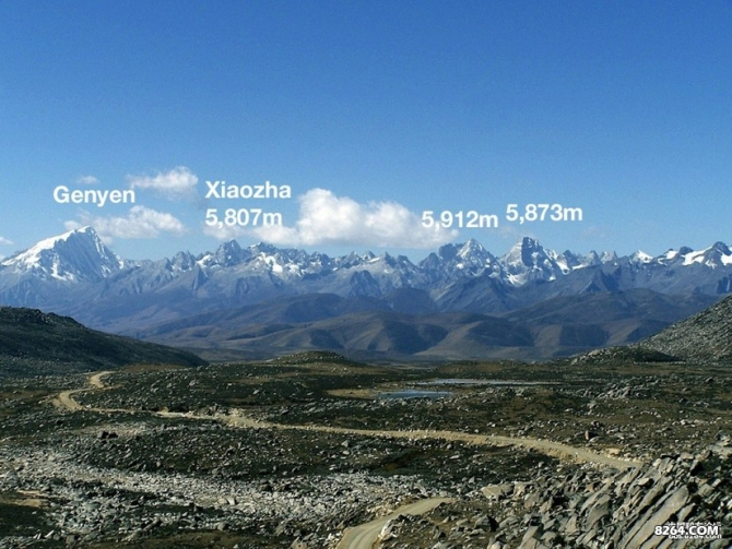 Экспедиция в Китай. Mt. Kamailong 5873m. (Альпинизм, kopteva, chibitok, petrova, china, sichuan, genyen, bigwall, GRIT&ROCK)