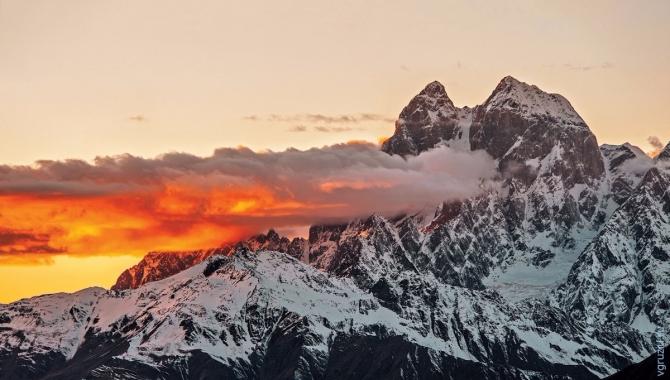 Вызoв себе. Ушба 4710м по легендарному маршруту Габриэля Хергиани (Альпинизм, альпинизм, кавказ, Габриэль Хергиани, Гапко, Душечкина)