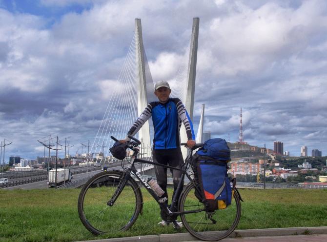 От Калининграда до Владивостока на велосипеде. (Туризм, путешествие, туризм, отчет)