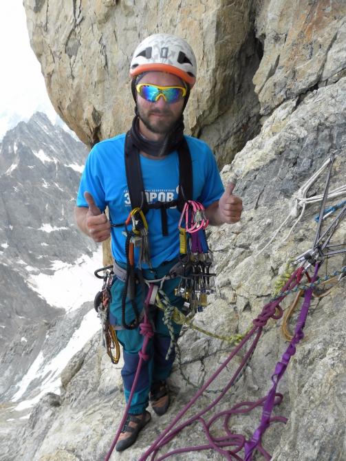 Отчет о восхождении на Ушбу Южную (4710 м) по маршруту Габриэля Хергиани 5б кат. сл. (Альпинизм)