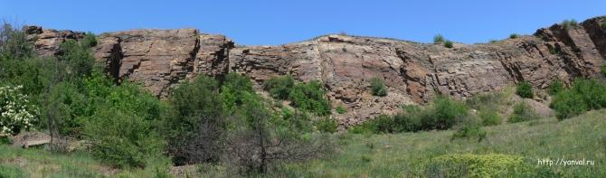 Найден новый район для скалолазания в ростовской области (Скалолазание, скалолазание в ростовской области, красный сулин, скелеватая скала)