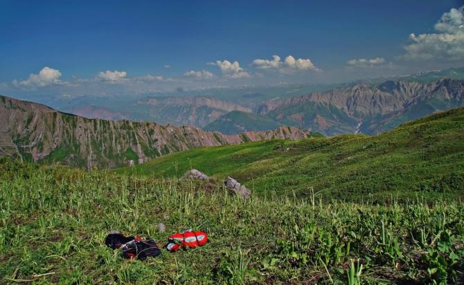Таджикистан — Киргизия 2017. День четвертый. 18 июля (Воздух, airdesign, hero, garminclub, paragliding, fly, pamir, tajikistan, airdesignrussia, trip2017)