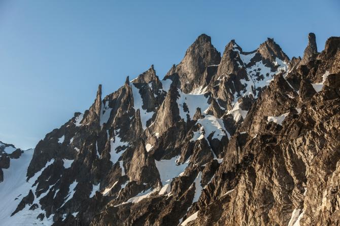 Летние альпсборы Камчатской Федерации Альпинизма и Скалолазания (Ганальский хребет, Камчатка)